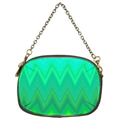 Zig Zag Chevron Classic Pattern Chain Purses (two Sides)  by Nexatart