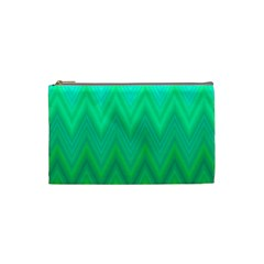 Zig Zag Chevron Classic Pattern Cosmetic Bag (small)