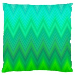 Zig Zag Chevron Classic Pattern Standard Flano Cushion Case (two Sides)