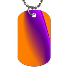 Lines Network The Ribbon Red Dog Tag (one Side)
