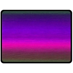 Ombre Fleece Blanket (large)  by ValentinaDesign