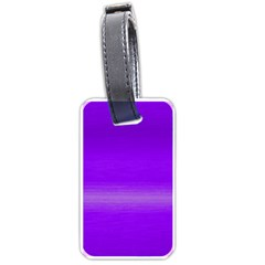 Ombre Luggage Tags (one Side)  by ValentinaDesign