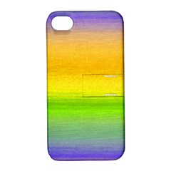 Ombre Apple Iphone 4/4s Hardshell Case With Stand by ValentinaDesign