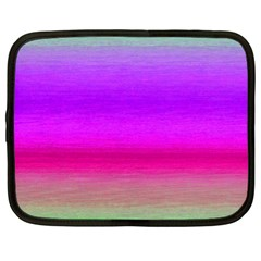 Ombre Netbook Case (xl)  by ValentinaDesign
