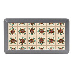 Native American Pattern Memory Card Reader (mini) by linceazul