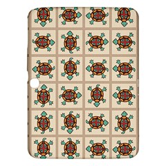 Native American Pattern Samsung Galaxy Tab 3 (10 1 ) P5200 Hardshell Case  by linceazul