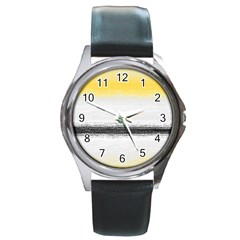 Ombre Round Metal Watch