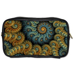 Spiral Background Patterns Lines Woven Rotation Toiletries Bags 2 Side by amphoto