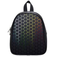 Abstract Resize School Bag (small)