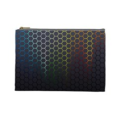 Abstract Resize Cosmetic Bag (large)  by amphoto
