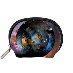 Abstract Abstract Space Resize Accessory Pouches (small)  by amphoto