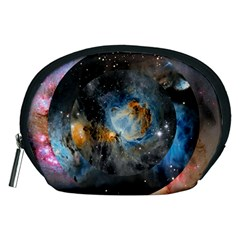 Abstract Abstract Space Resize Accessory Pouches (medium)  by amphoto