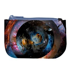 Abstract Abstract Space Resize Large Coin Purse by amphoto