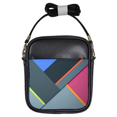 Lollipop Wide Girls Sling Bags