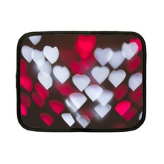 Highlights Hearts Texture  Netbook Case (small)  by amphoto