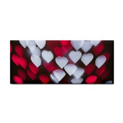 Highlights Hearts Texture  Cosmetic Storage Cases by amphoto