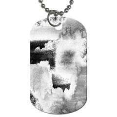 Ombre Dog Tag (one Side) by ValentinaDesign