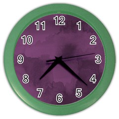 Ombre Color Wall Clocks by ValentinaDesign