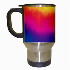 Ombre Travel Mugs (white) by ValentinaDesign