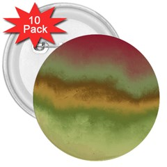 Ombre 3  Buttons (10 Pack)  by ValentinaDesign