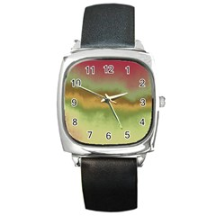 Ombre Square Metal Watch by ValentinaDesign