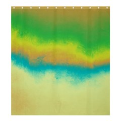 Ombre Shower Curtain 66  X 72  (large)  by ValentinaDesign
