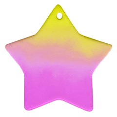 Ombre Star Ornament (two Sides) by ValentinaDesign