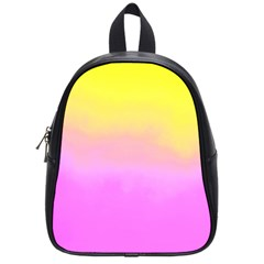 Ombre School Bag (small) by ValentinaDesign