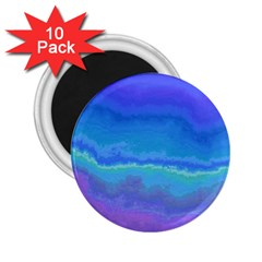 Ombre 2 25  Magnets (10 Pack)  by ValentinaDesign