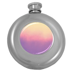 Ombre Round Hip Flask (5 Oz) by ValentinaDesign