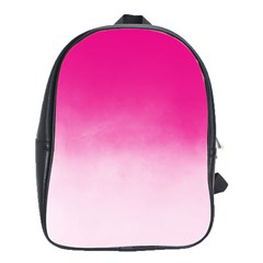 Ombre School Bag (large) by ValentinaDesign