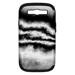 Ombre Samsung Galaxy S Iii Hardshell Case (pc+silicone) by ValentinaDesign