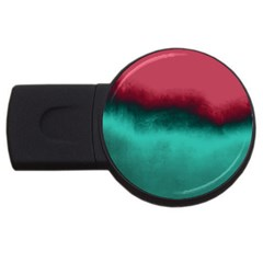 Ombre Usb Flash Drive Round (4 Gb) by ValentinaDesign