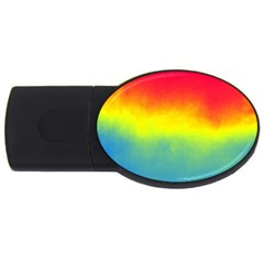Ombre Usb Flash Drive Oval (4 Gb)