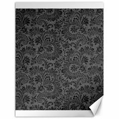 Floral Pattern Canvas 12  X 16   by ValentinaDesign