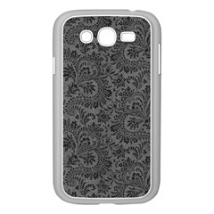 Floral Pattern Samsung Galaxy Grand Duos I9082 Case (white) by ValentinaDesign