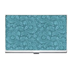 Floral Pattern Business Card Holders by ValentinaDesign
