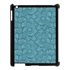Floral Pattern Apple Ipad 3/4 Case (black) by ValentinaDesign