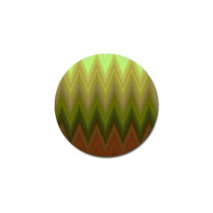 Zig Zag Chevron Classic Pattern Golf Ball Marker (4 Pack) by Nexatart