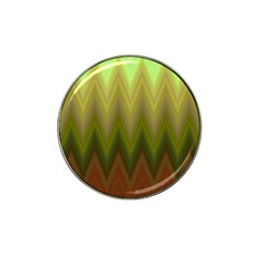 Zig Zag Chevron Classic Pattern Hat Clip Ball Marker (4 Pack)