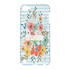 Watercolor Bouquet Floral White Apple Ipod Touch 5 Hardshell Case by Nexatart