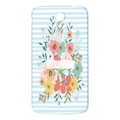 Watercolor Bouquet Floral White Samsung Galaxy Mega I9200 Hardshell Back Case by Nexatart