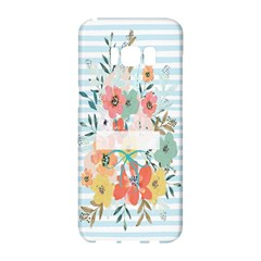 Watercolor Bouquet Floral White Samsung Galaxy S8 Hardshell Case  by Nexatart