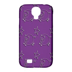 Pig Star Pattern Wallpaper Vector Samsung Galaxy S4 Classic Hardshell Case (pc+silicone) by Nexatart