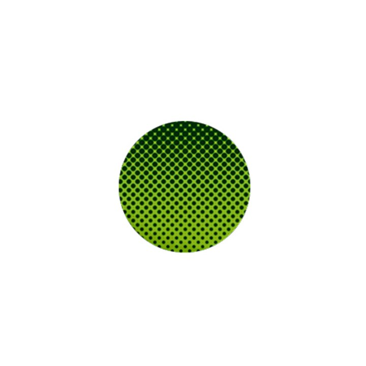 Halftone Circle Background Dot 1  Mini Magnets