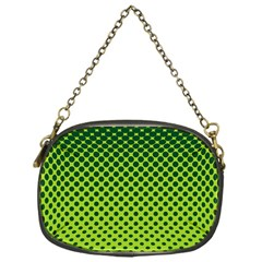 Halftone Circle Background Dot Chain Purses (one Side)