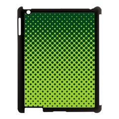Halftone Circle Background Dot Apple Ipad 3/4 Case (black) by Nexatart