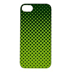Halftone Circle Background Dot Apple Iphone 5s/ Se Hardshell Case