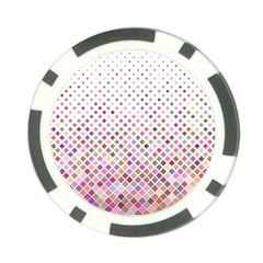 Pattern Square Background Diagonal Poker Chip Card Guard by Nexatart