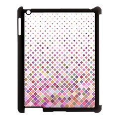 Pattern Square Background Diagonal Apple Ipad 3/4 Case (black) by Nexatart